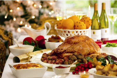christmas day 2015 heads up food guide