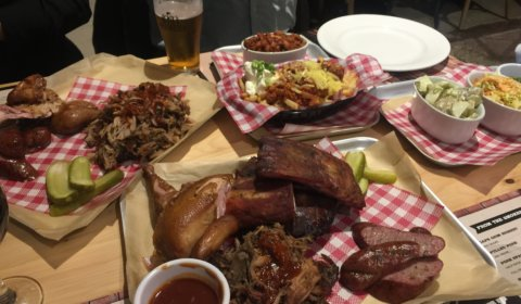 American BBQ Food