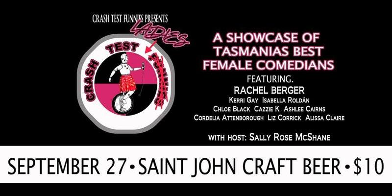 Crash Test Ladies - Saint John Craft Beer, Launceston