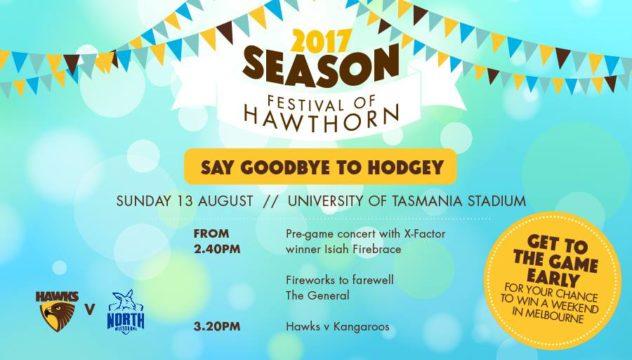AFL Hawks vs. Kangaroos