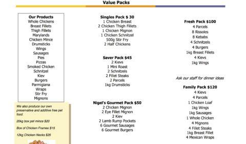 Nigel's Farmyard Value Packs
