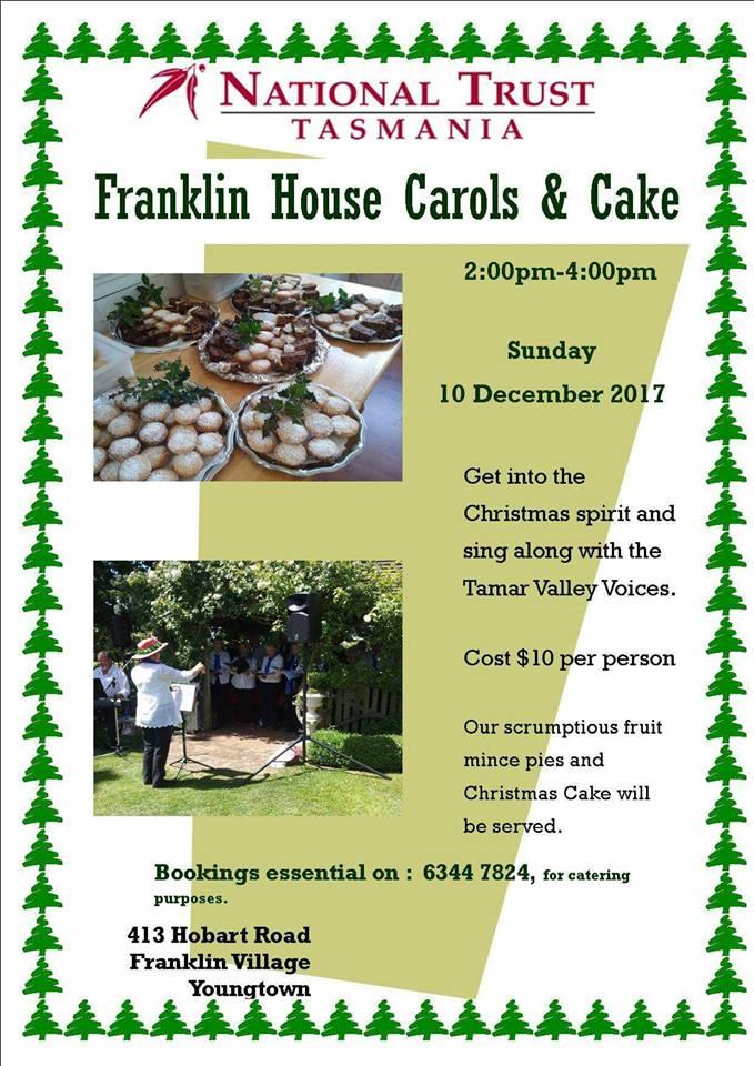 Franklin House - Christmas Carols