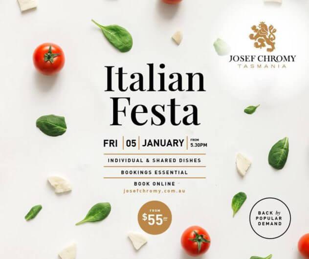 Italian Festa - Josef Chromy Wines