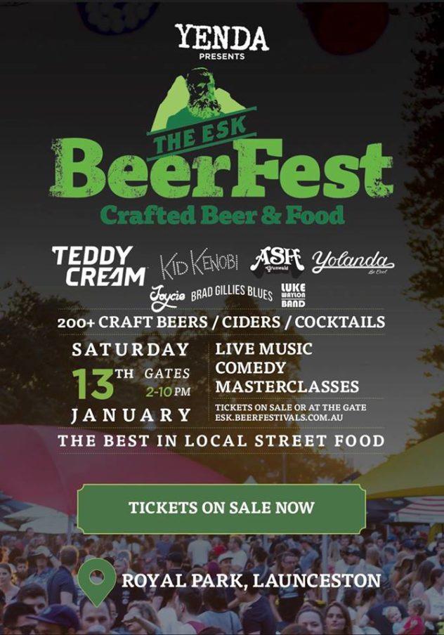 Esk Beerfest - Royal Park, Launceston