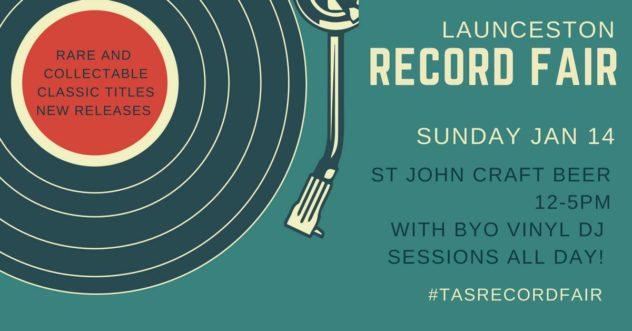 Launceston Record Fair - Saint John Craft Beer, Launceston