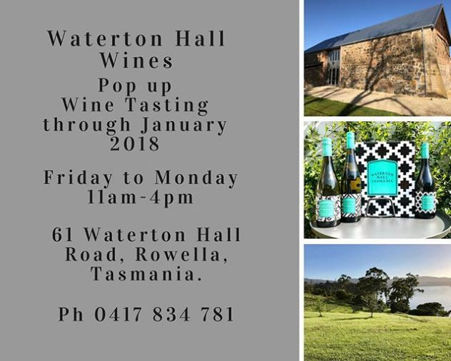 Waterton Hall Wines Pop Up Cellar Door