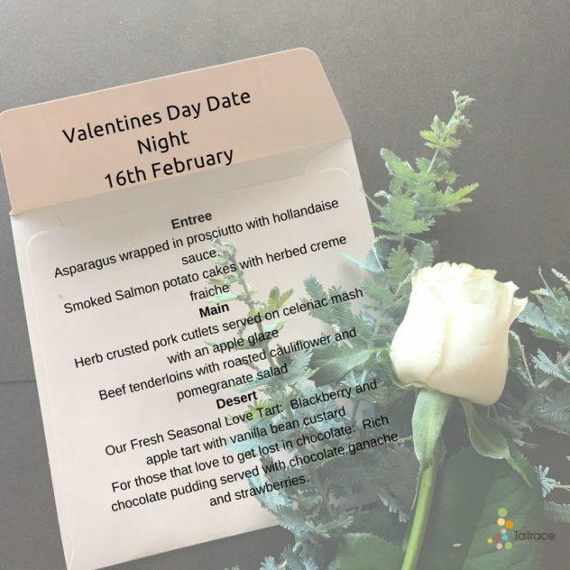 Valentine's Date Night - Tailrace Centre