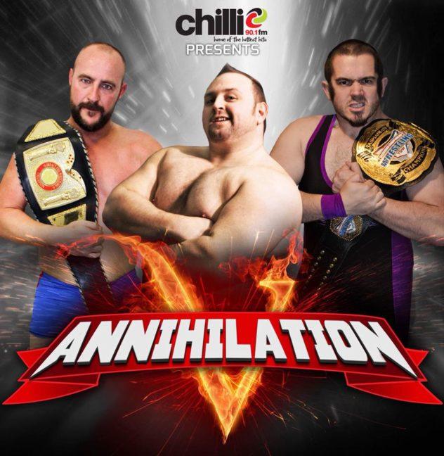 Annihilation 5 - Tas. Championship Wrestling