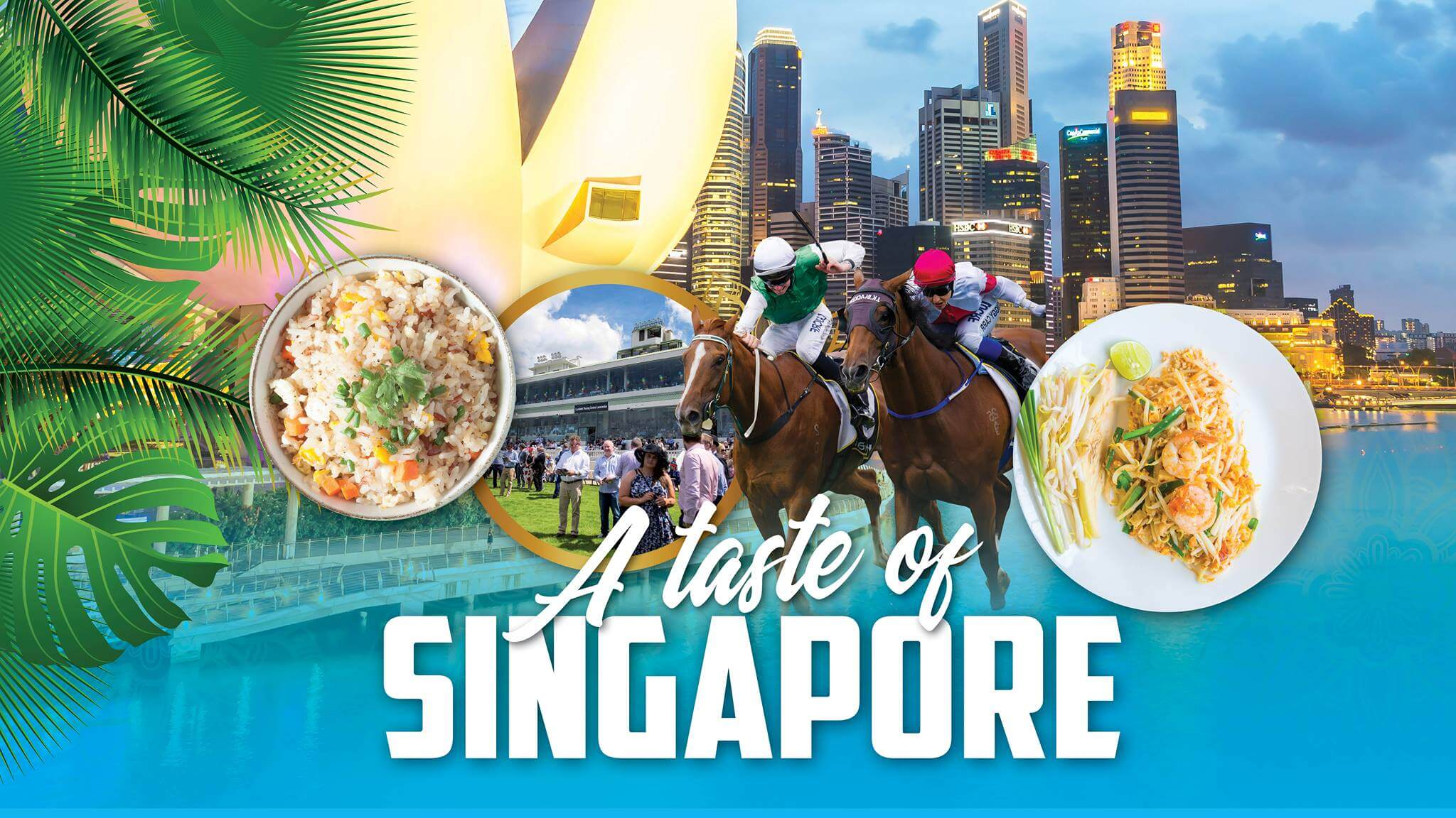 NIGHT GALLOPS & A TASTE OF SINGAPORE » Heads Up Launceston & Food Guide